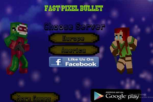 Play Fast Pixel Bullet