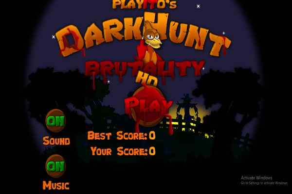 Play DarkHunt HD Brutality