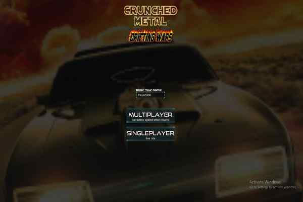 Play Crunched Metal Drifting Wars