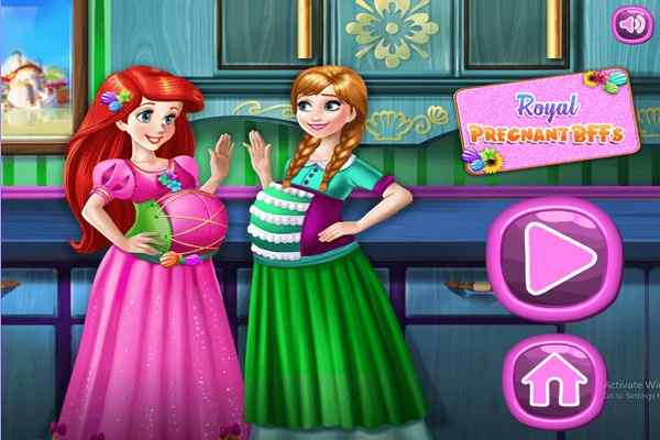 Play Royal Pregnant BFFs H5