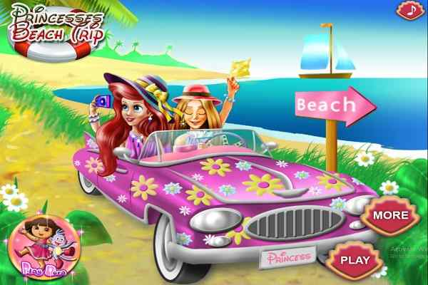 Play Princesses Beach Trip