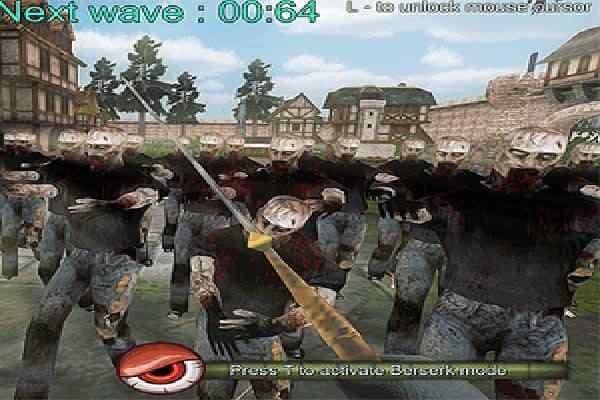Play Zombies vs Berserk