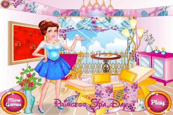 Play Princess Spa Day