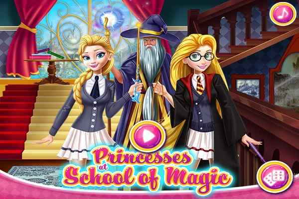 Play Princesses at School of Magic