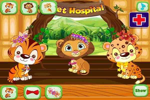 Play Baby Pet Hospital