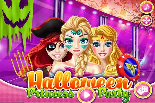 Play Halloween Princess Party