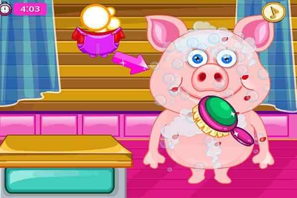 Play Cute Pig In Hospital