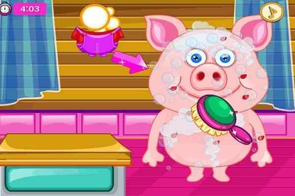 Play Cute Pig In Hospital