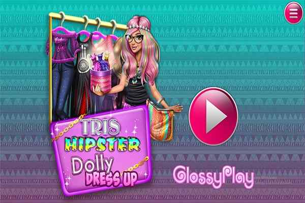 Play Tris Hipster Dolly Dress Up H5