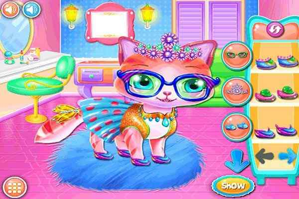 Play Kittys Fashionista Day