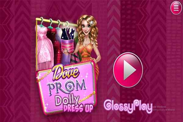 Play Dove Prom Dolly Dress Up H5