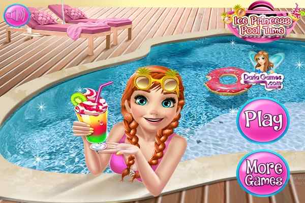 Play Ice Princess Pool Time
