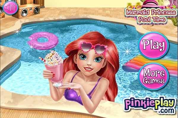 Play Mermaid Princess Pool Time