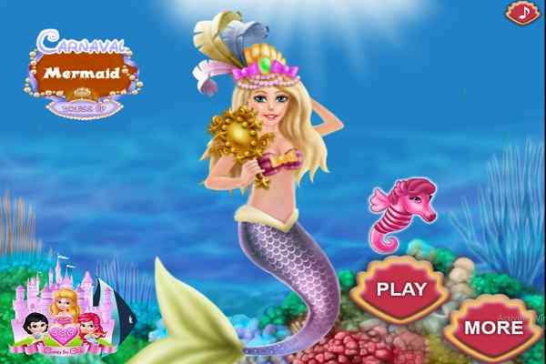 Play Carnaval Mermaid DressUp