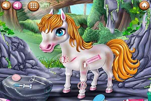 Play Little Pony First Aid