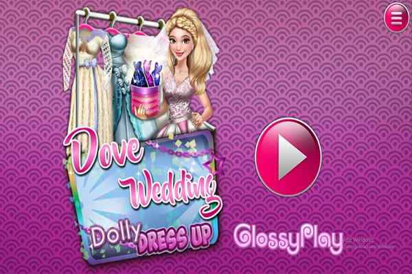 Play Dove Wedding Dolly Dress Up H5
