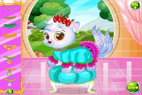 Play Lovely Princess Cat