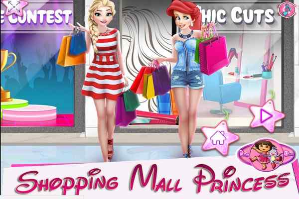 Play Shopping Mall Princess