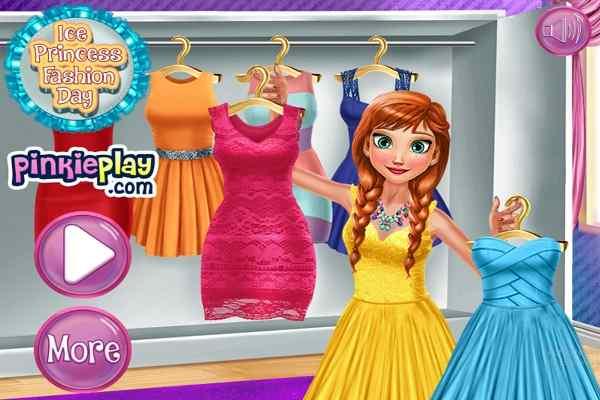 Play Ice Princess Fashion Day H5