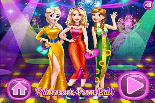 Play Princesses Prom Ball