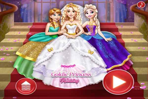 Play Goldie Princess Wedding H5