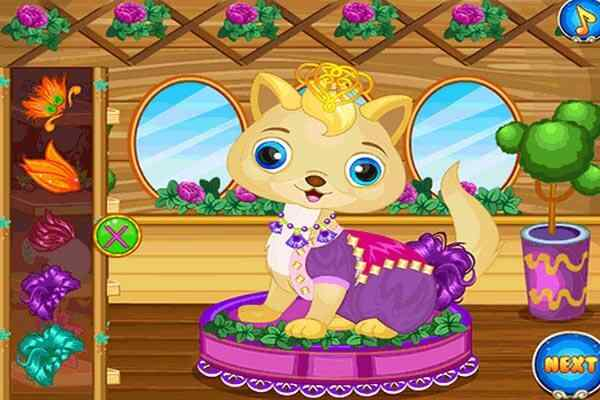 Play Pet Wedding Party Beauty Saloon