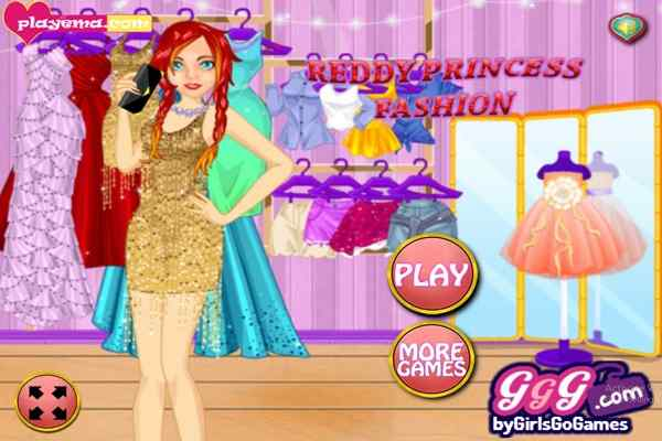 Play Reddy Princess Fashion