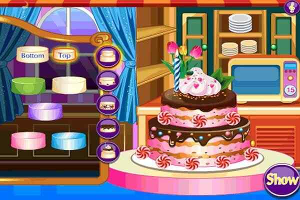 Play Cake Decoration