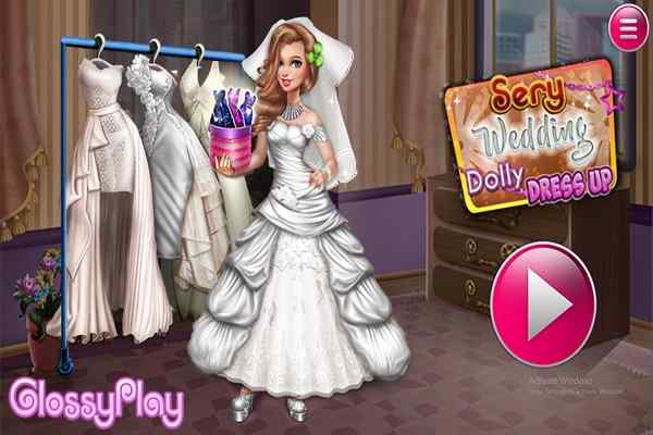 Sery Wedding Dolly Dress Up Dressing Games Play Online Free Atmegame Com