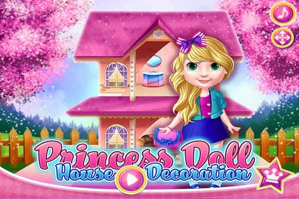 Princess Doll House Decoration Games Play Online Free Atmegame Com