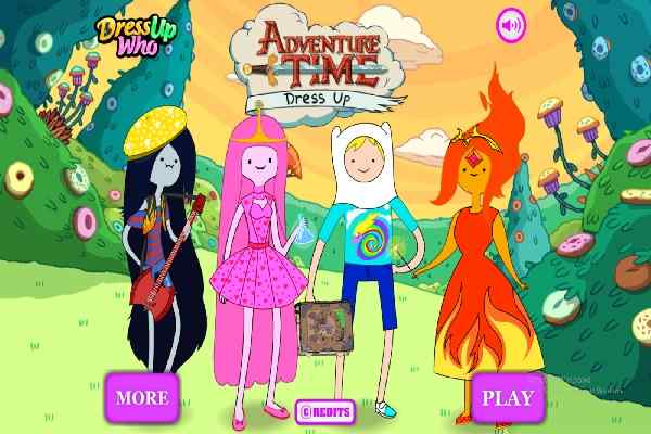 adventure time dress up games free