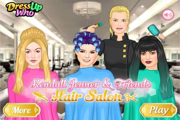 Kendall Hair Salon Make Up Games Play Online Free Atmegame Com