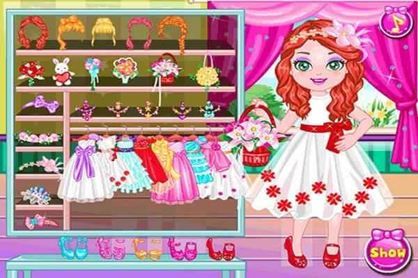 Play Little Bridesmaid Makeover