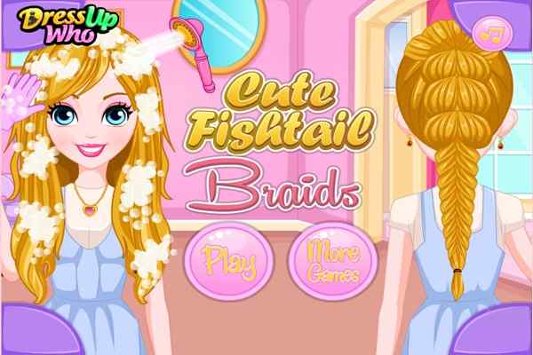 Cute Fishtail Braids Make Up Games Play Online Free