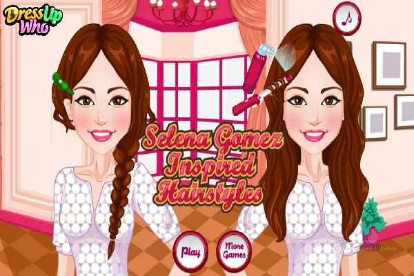 Selena Gomez Hairstyles, Make Up Games - Play Online Free ...