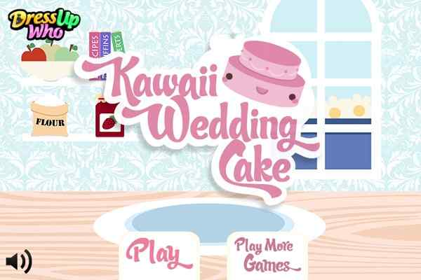 Kawaii Wedding Cake Decoration Games Play Online Free Atmegame