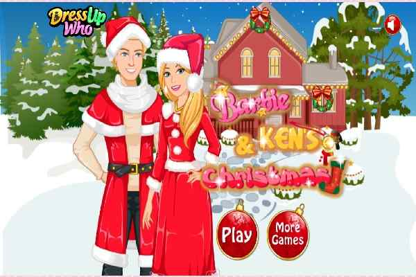 Play Barbie and Ken Christmas