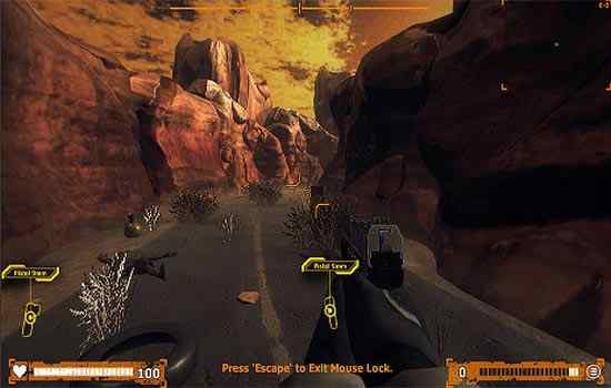 Play Desert Claw Rising