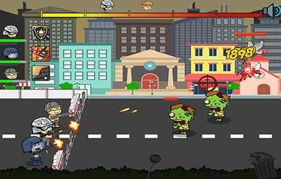 Play Zombie City Hold