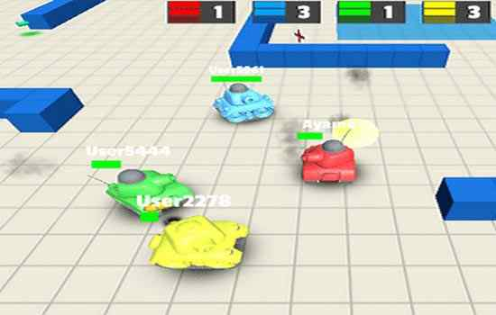 Play Tanks 3D Online