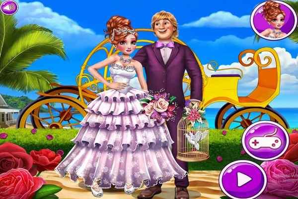 Princess Annie Summer Wedding Make Up Games Play Online
