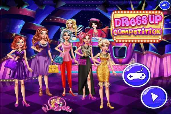 Dress Up Competition Dressing Games Play Online Free Atmegame Com