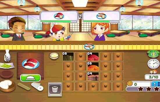 Play Sushi Rush Mobile