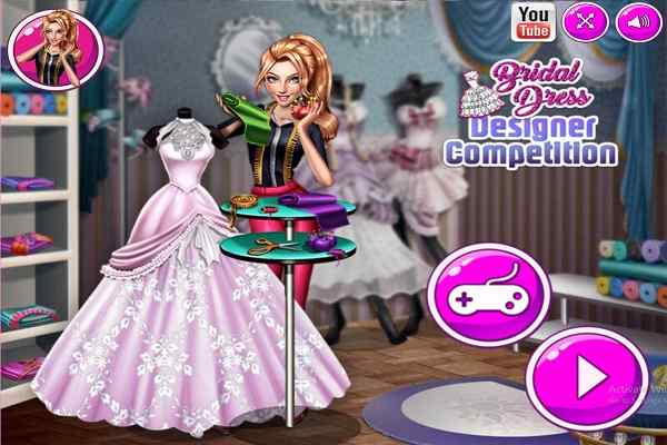 Bridal Dress Designer Competition Dressing Games Play Online Free