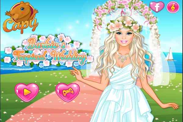 Play Barbie�s Tropical Wedding