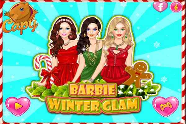 Play Barbie Winter Glam
