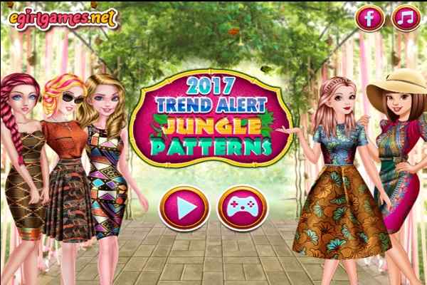 Play 2017 Trend Alert Jungle Patterns
