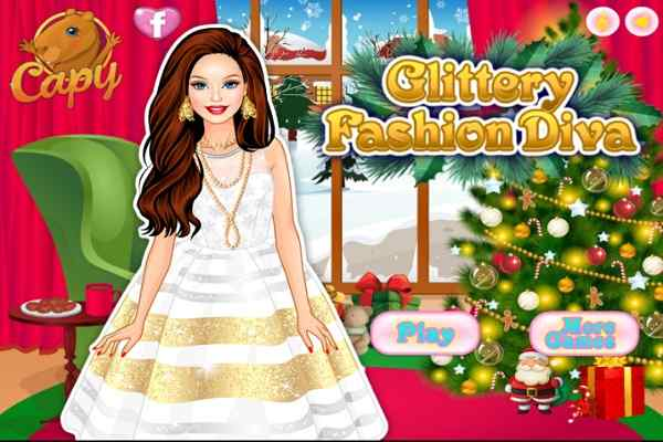 Play Glittery Fashion Diva