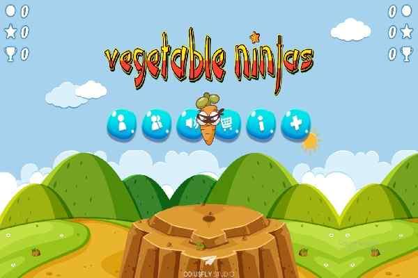 Play Vegetable Ninjas