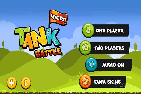 Play Micro Tank Battle